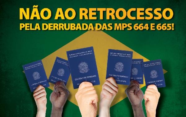 CSB publica anúncios nos principais jornais do Brasil contra as MPs 664 e 665