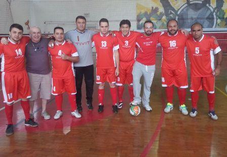 395bff46a4158 O 24º Campeonato de Futsal do Sindpd começou no último sábado (dia 7) com  jogos das equipes que compõem os grupos A